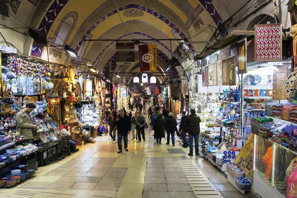 Базары стамбула: гранд базар и рынок специй