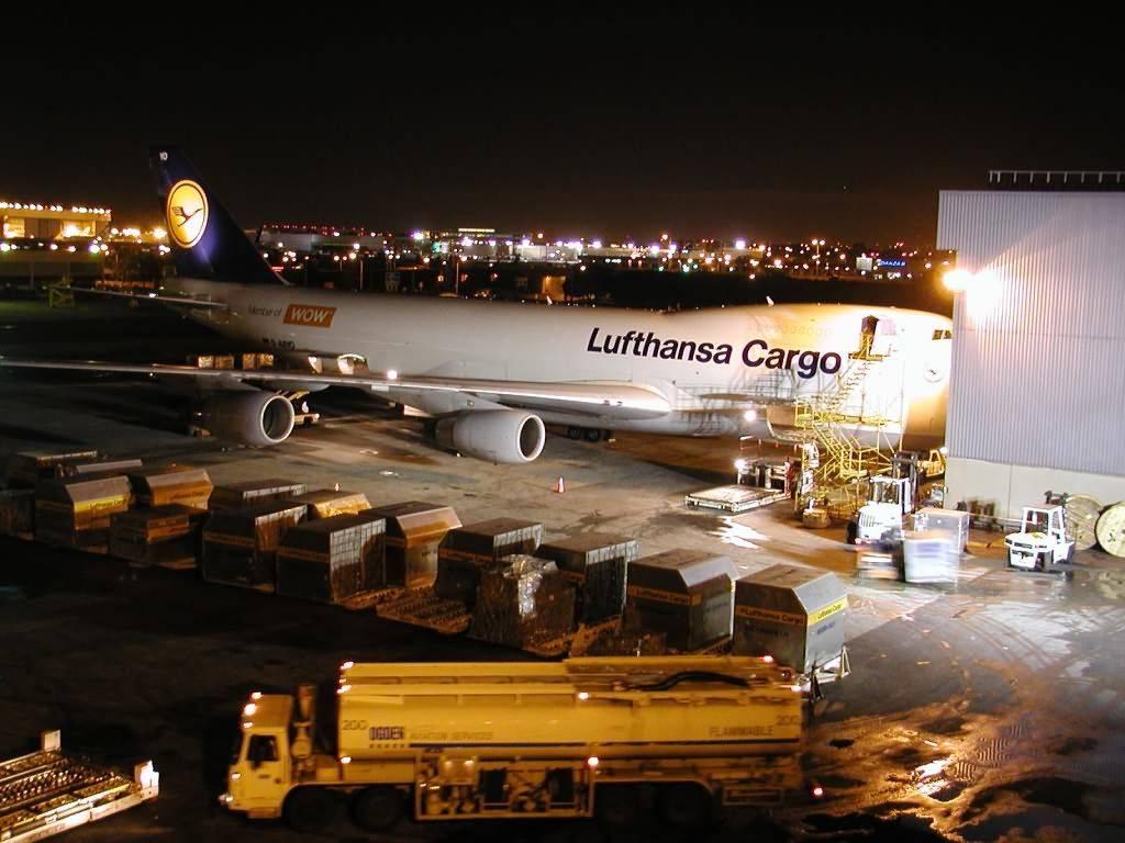 Lufthansa — через тернии к звездам сквозь воздушное пространство германии