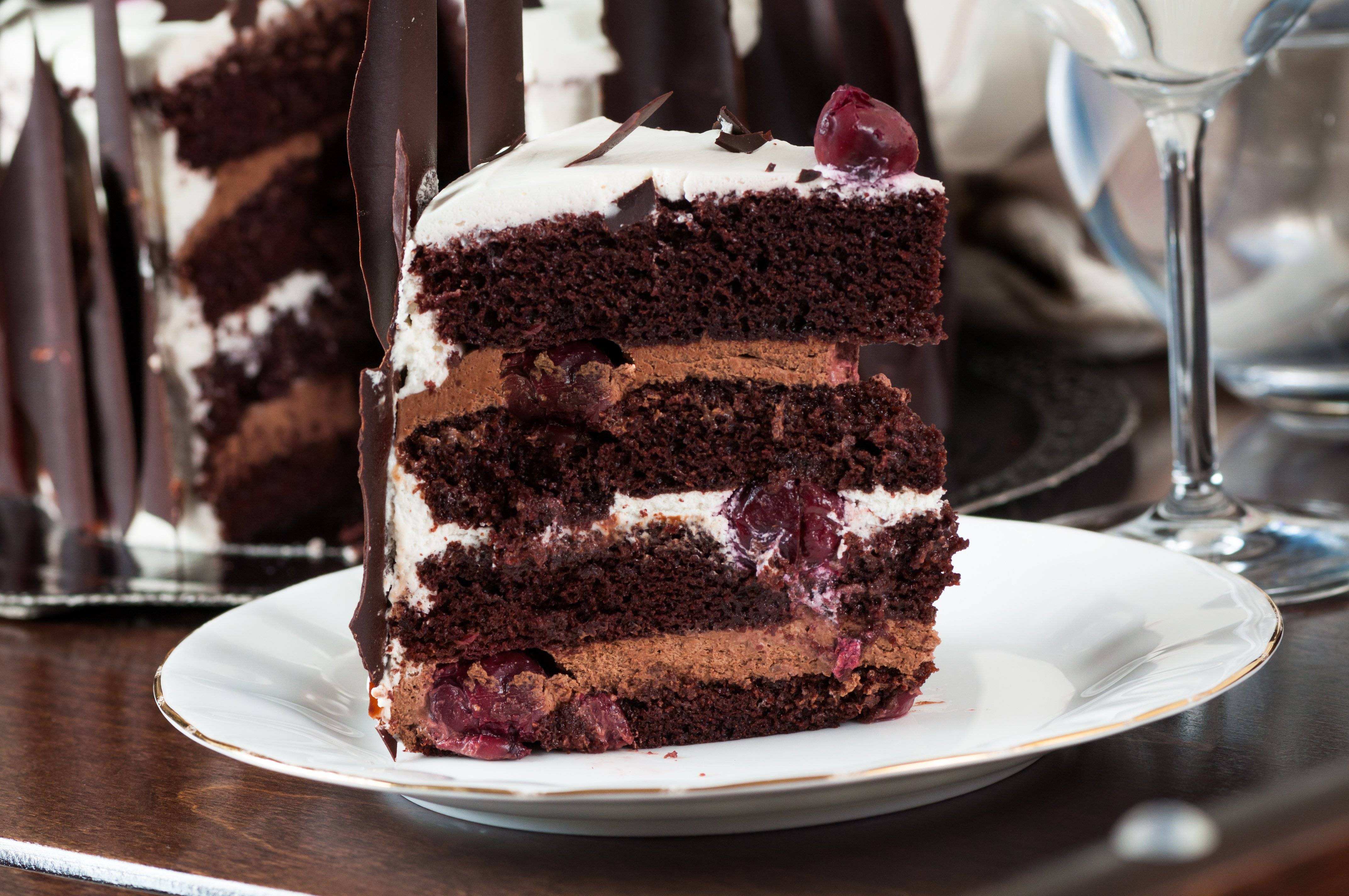 Торт «шварцвальд» — пошаговый рецепт с фото