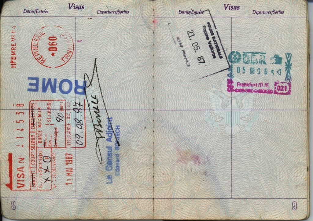 Получение визы в италию: список документов, анкета, фото