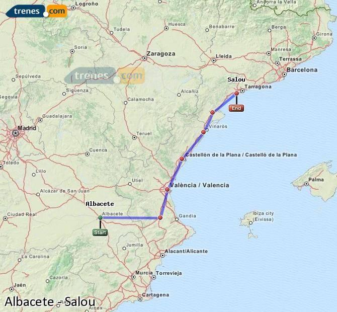 Из Барселоны в Валенсию: как добраться