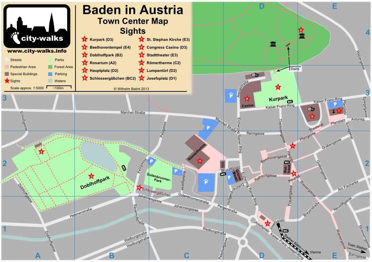 Достопримечательности баден-бадена: топ-6 лучших мест