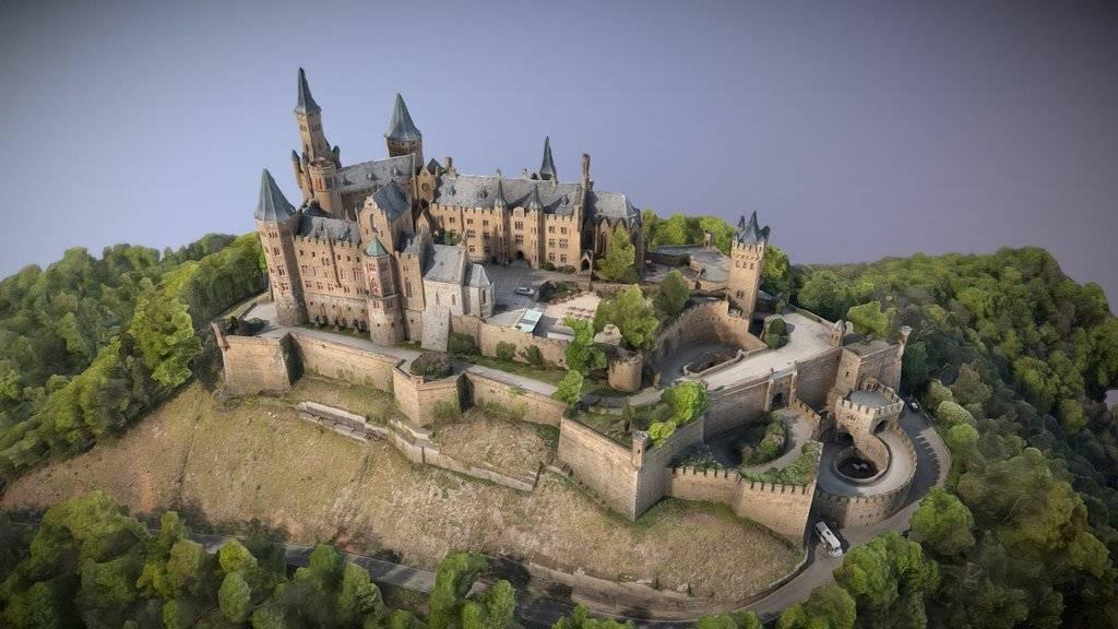 Замок гогенцоллерн в германии, фото и описание