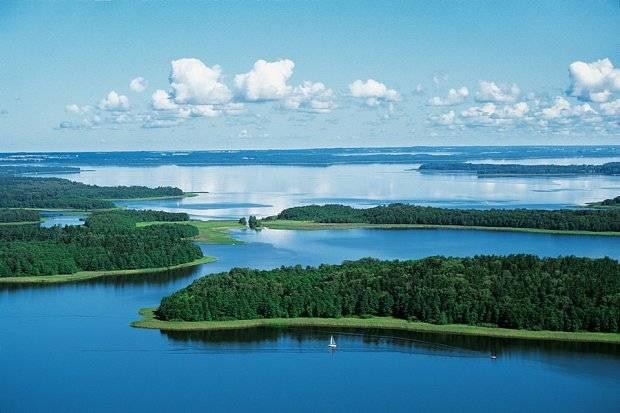 Водный мир. мазурские озёра, польша