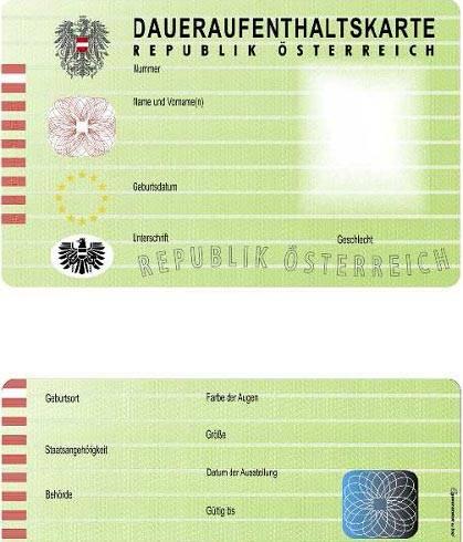 Как получить вид на жительство (внж) в австрии