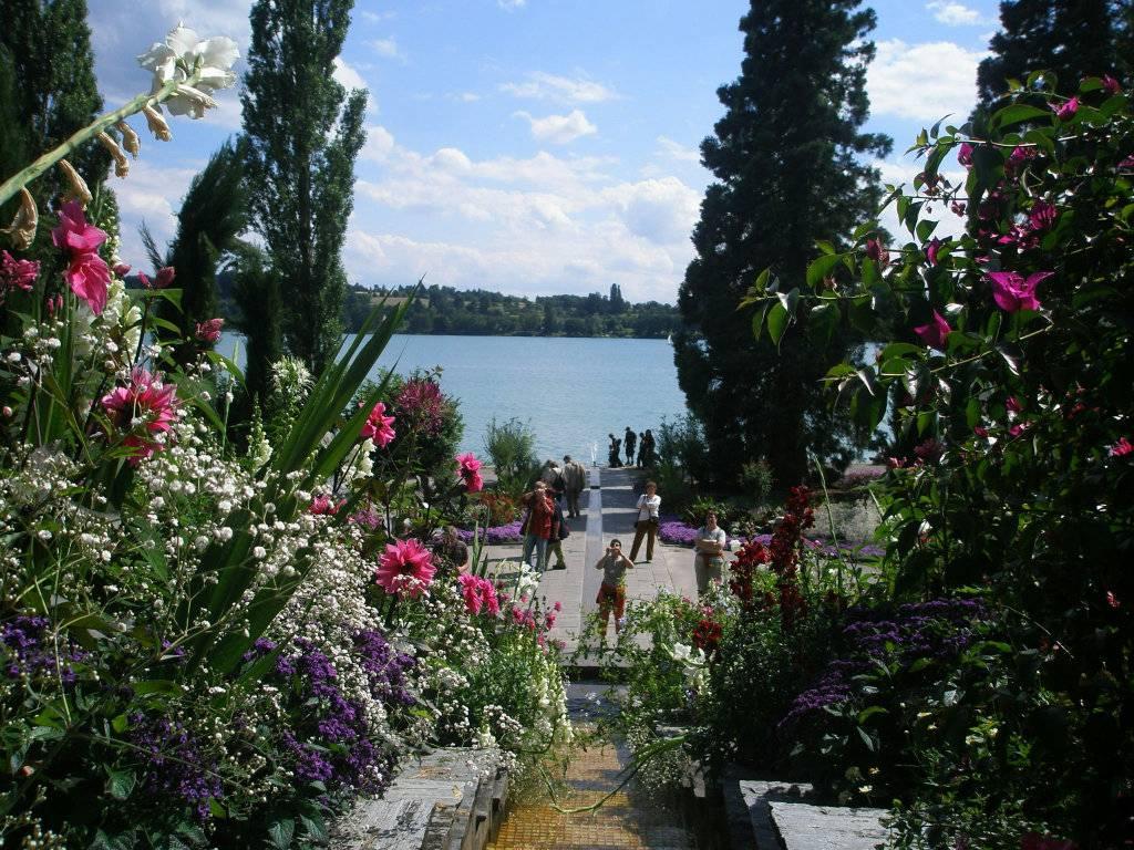 Остров цветов - майнау. пешеходная экскурсия в майнау. швейцария