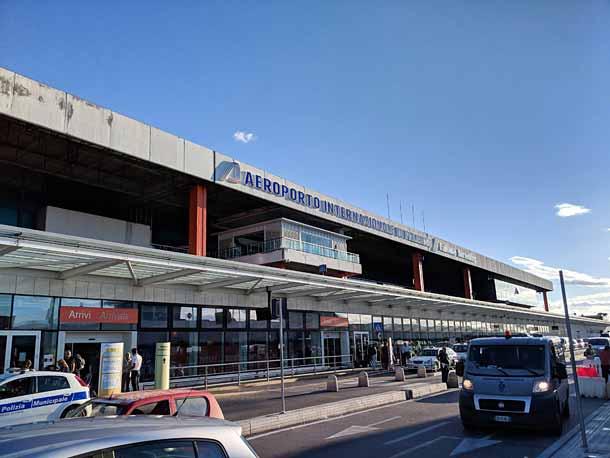 Международные аэропорты сицилии - где находятся, как добраться в город