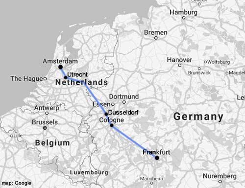 В нидерланды через дюссельдорф – секреты путешественника