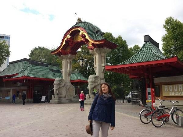Прогулки по берлинскому зоопарку (zoologischer garten berlin)