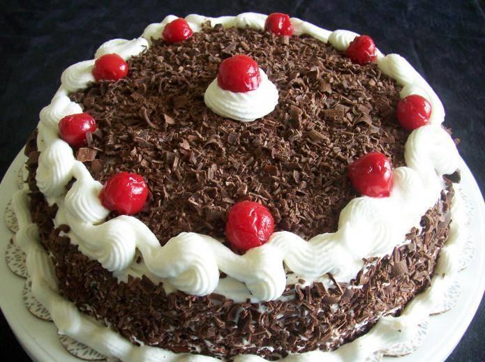 Торт черный лес шварцвальд (шварцвальдский) рецепт с фото пошагово - 1000.menu