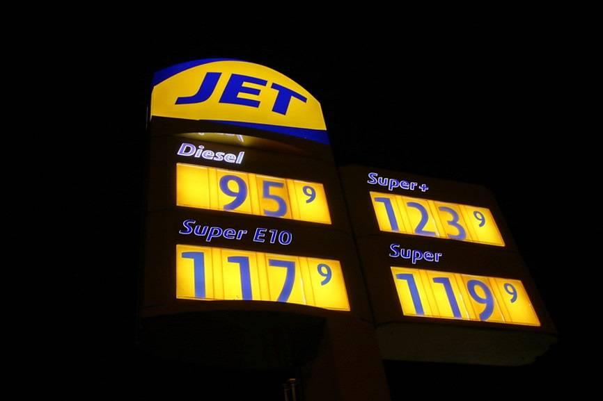 Стоимость бензина в германии