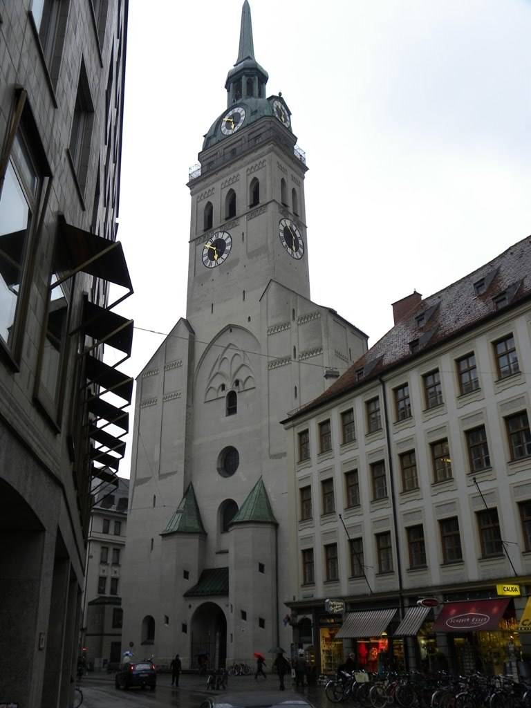 Все самые популярные достопримечательности мюнхена: церкви, ратуши, музеи, площади, архитектура