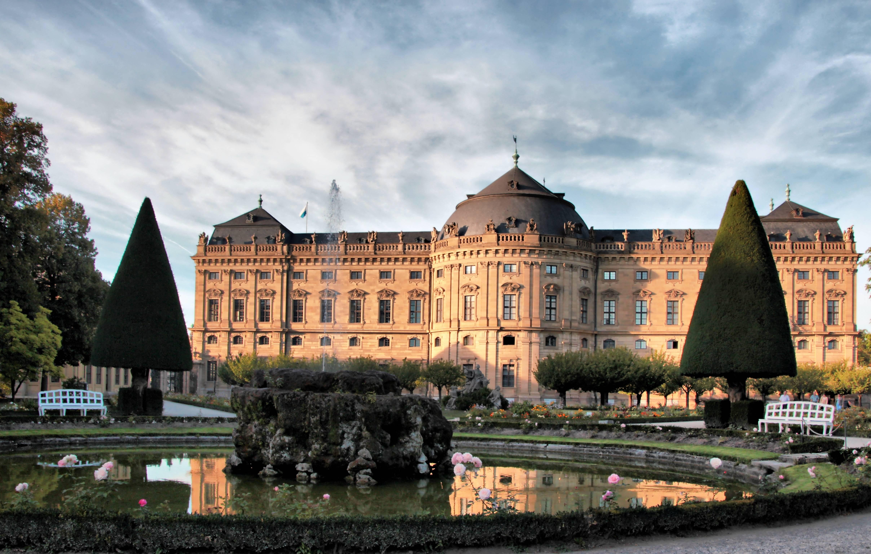 Вюрцбургская резиденция в вюрцбурге | gawain.ru