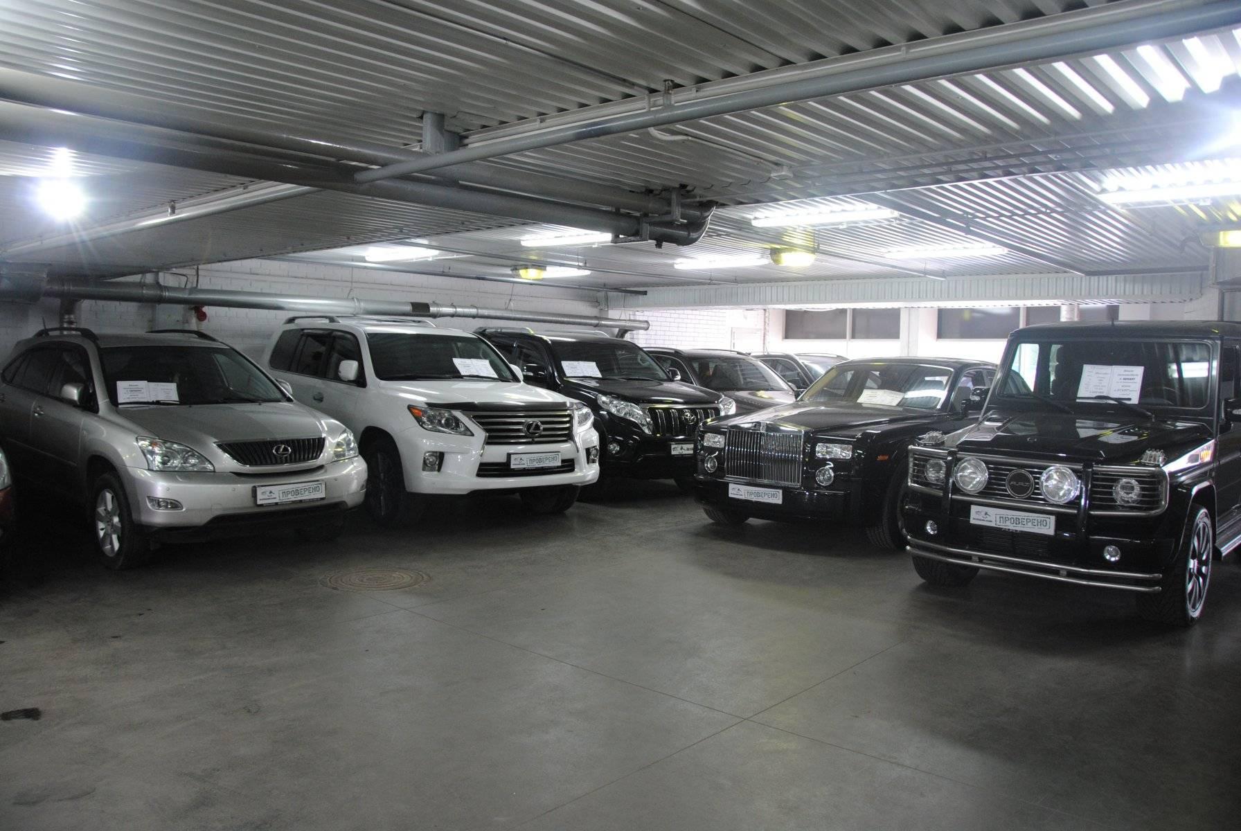 Автобазары, автосалоны и автоаукционы в испании