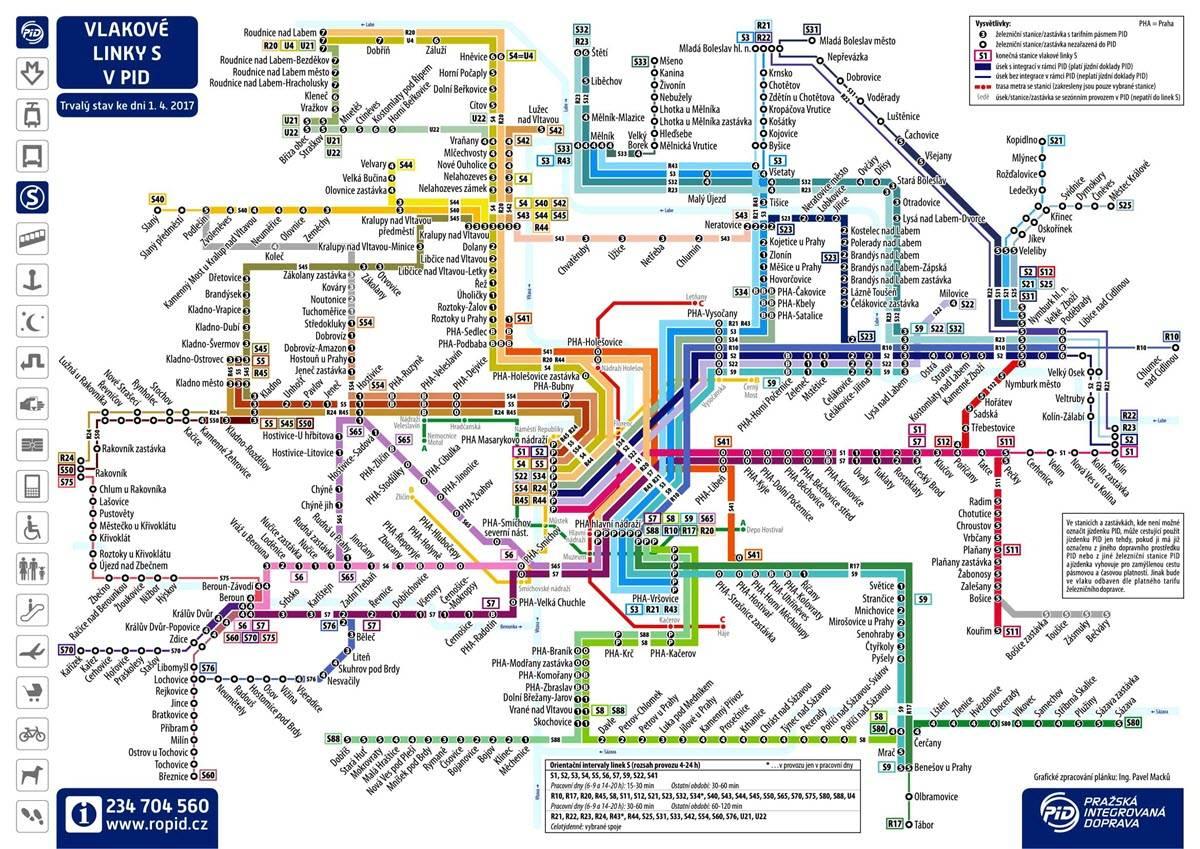 Как работает общественный транспорт в Праге