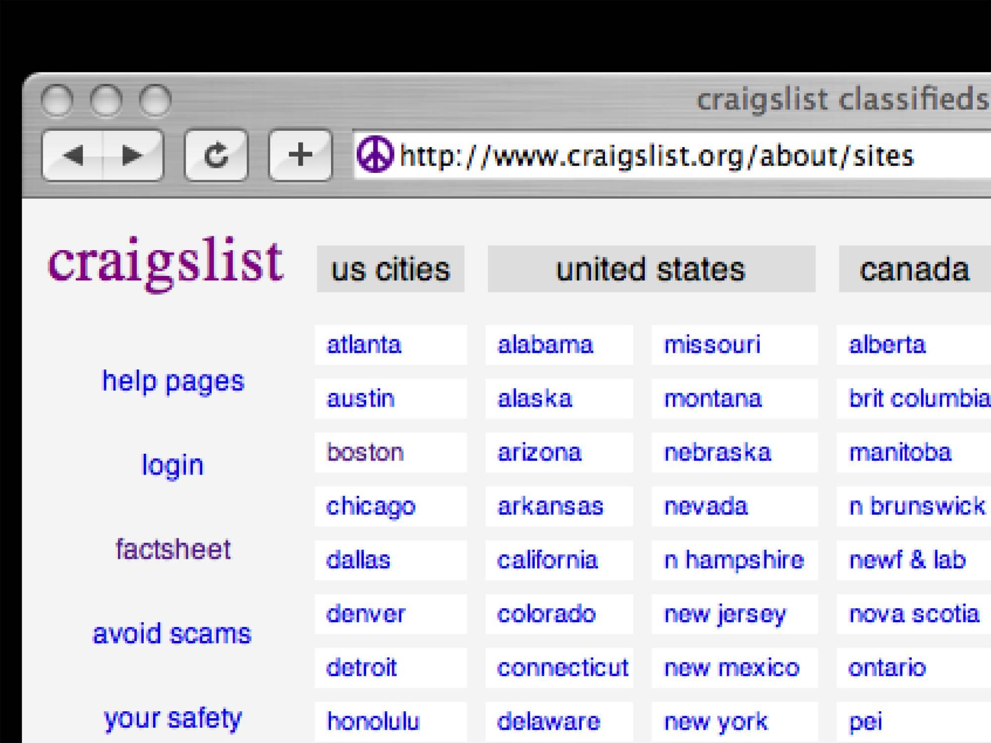 Craigslist: best-of-craigslist