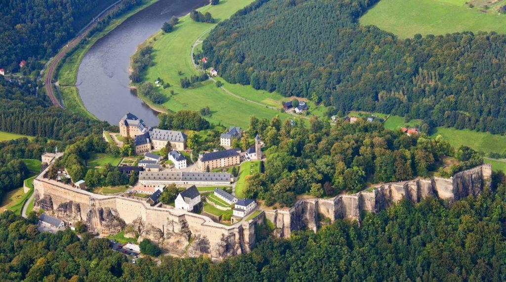 Экскурсия в заповедник саксонская швейцария и крепость кёнигштайн