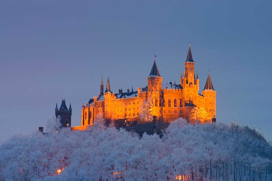 Гогенцоллерн и зигмаринген — cказочные замки прусских королей