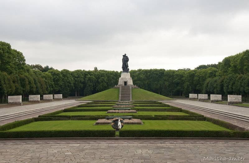 Трептов-парк в берлине - памятник воину-освободителю, история, фото, описание, как добраться, карта