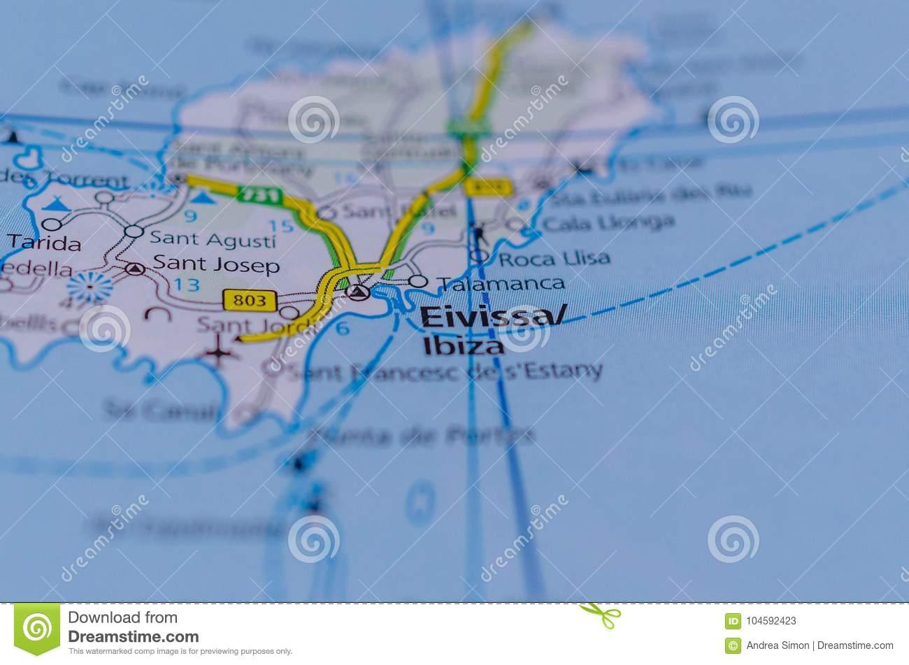 Международные аэропорты испании на карте