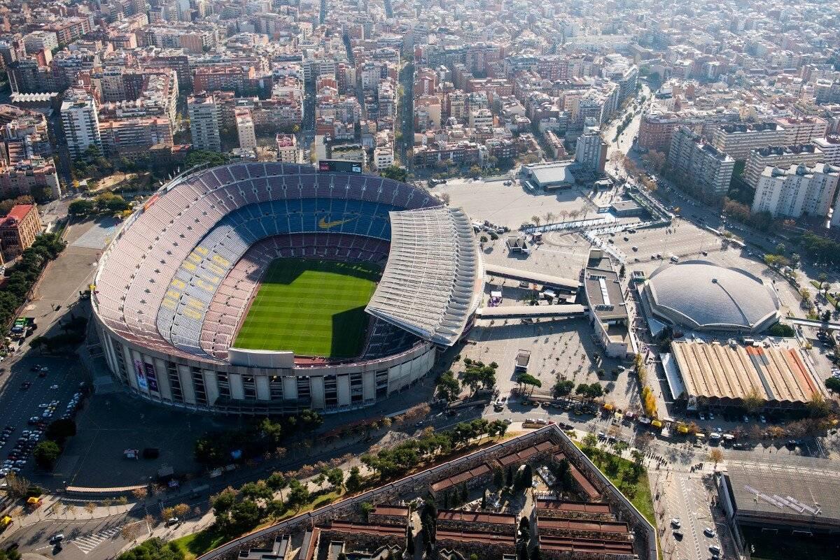 Как называется стадион в испании