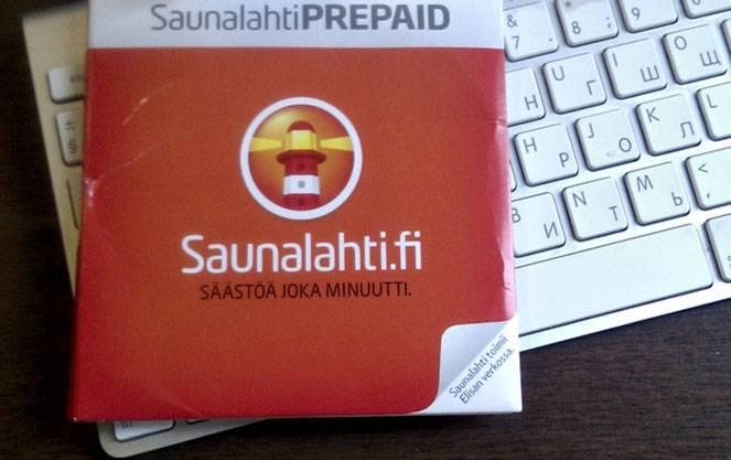 Saunalahti prepaid пополнить счет сауналахти, интернет и сотовые операторы в финляндии, мобильная связь