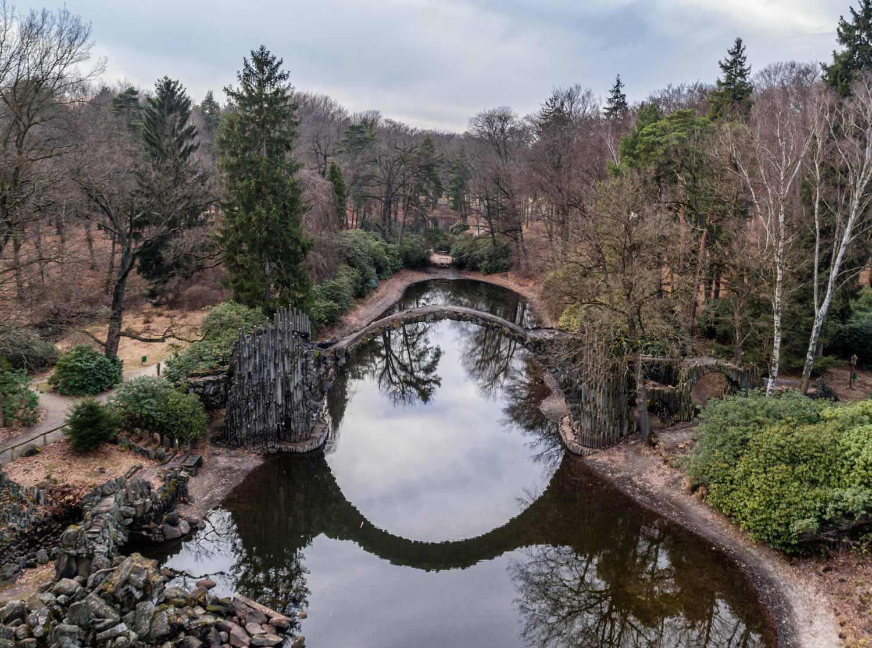 Где находится портал в другое измерение? видео моста, который построил сам дьявол