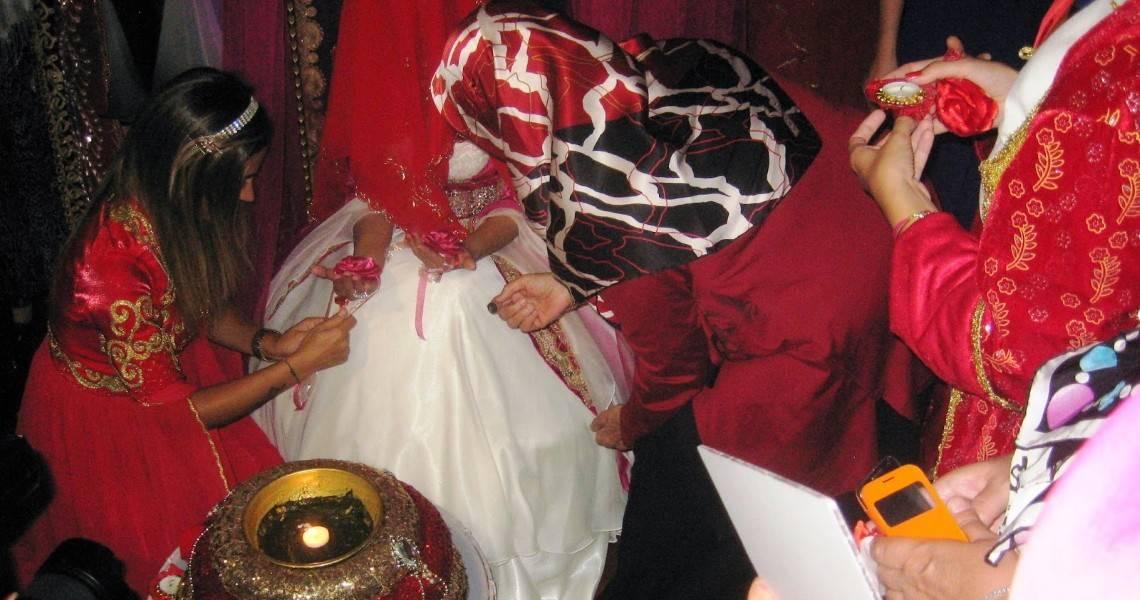 Как проходит китайская свадьба