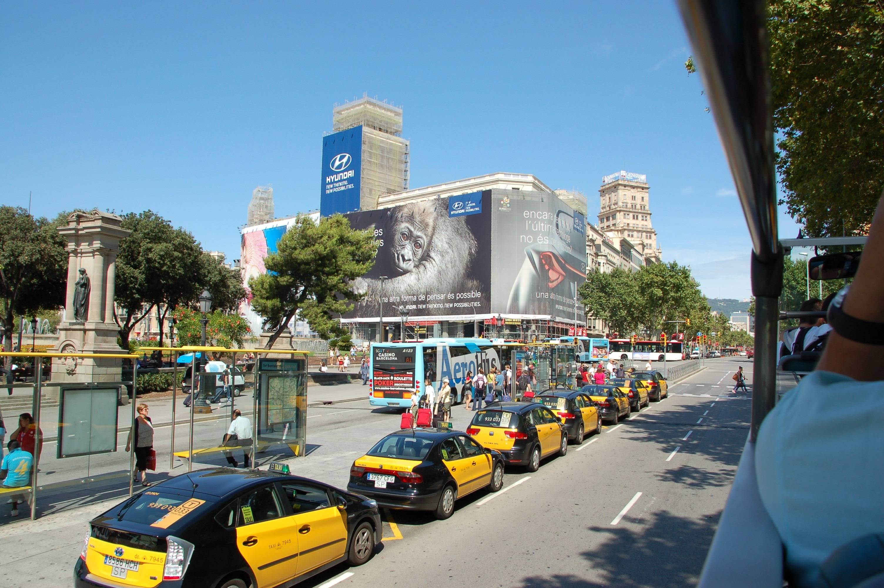 Городской транспорт испании