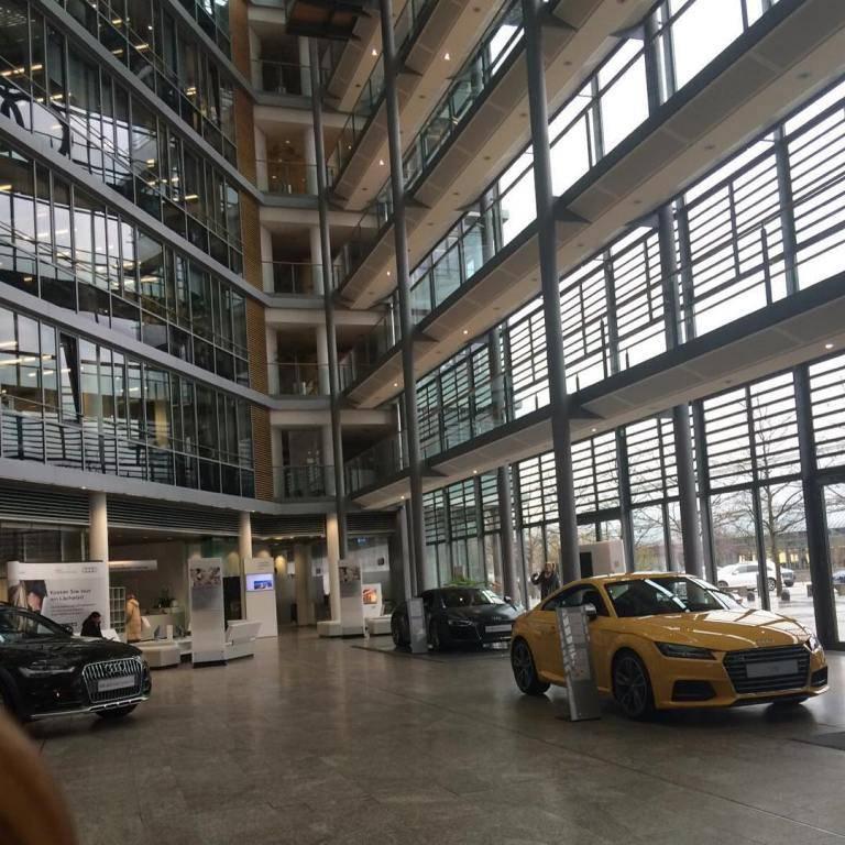 Завод ауди в ингольштадте, германия -  управление производством