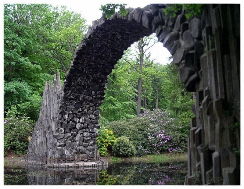 «дьявольский» мост ракотцбрюке и его легенды