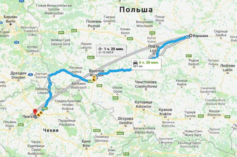 Как добраться от праги до кракова: поезд, автобус, машина. расстояние, цены на билеты и расписание 2021 на туристер.ру