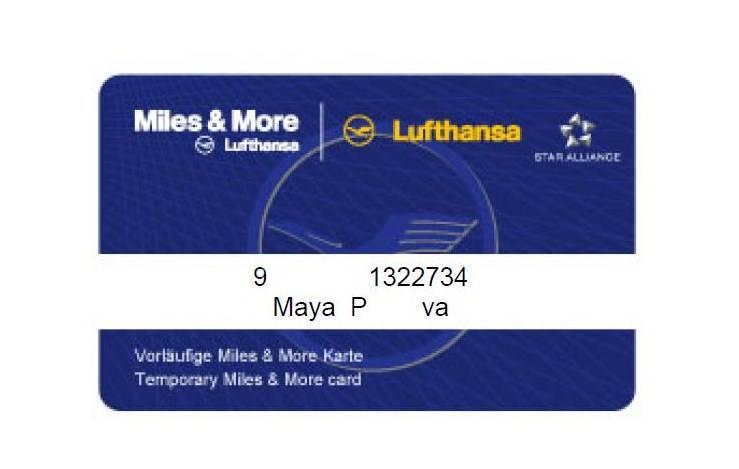 Программа miles and more от lufthansa.