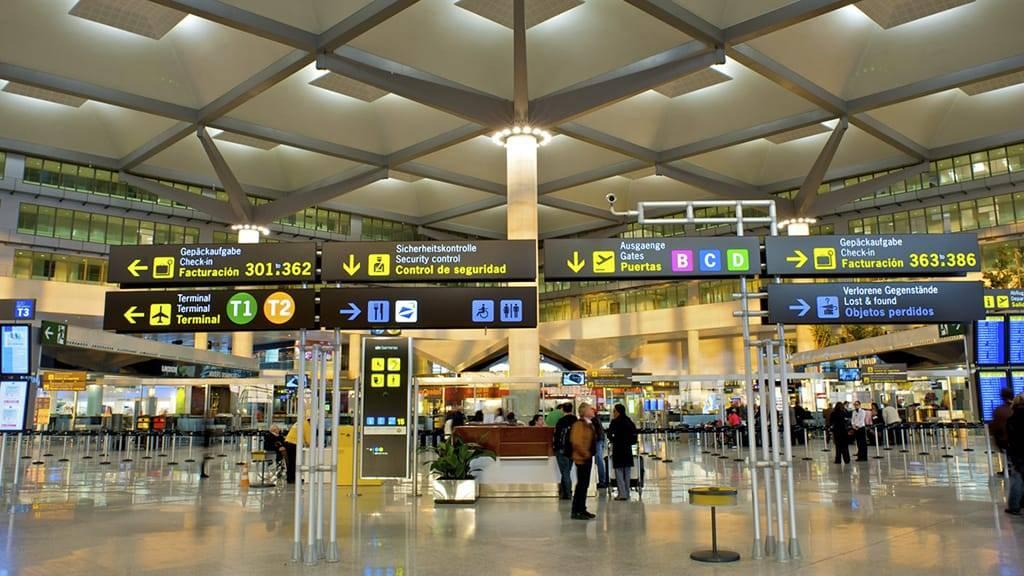 Аэропорт малага и как добраться до своего отеля