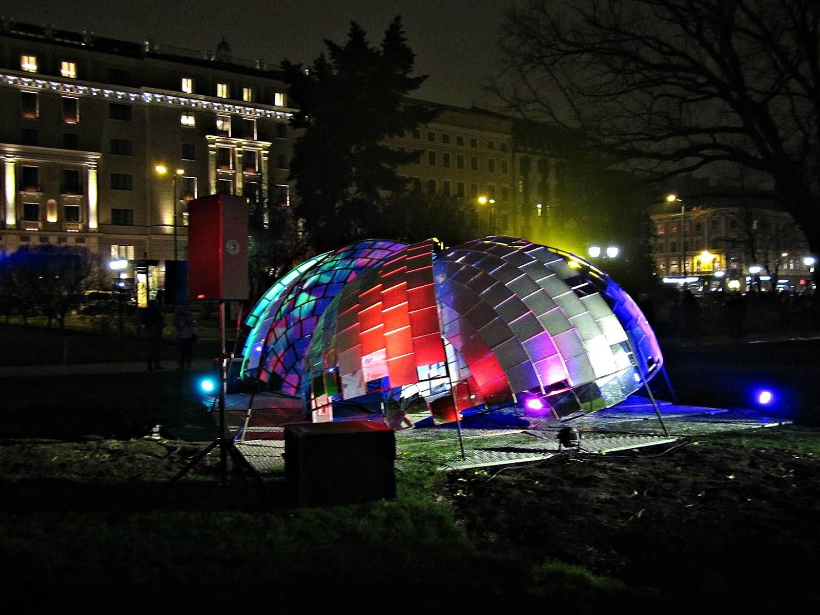 Зрелищный фестиваль светового искусства в Берлине