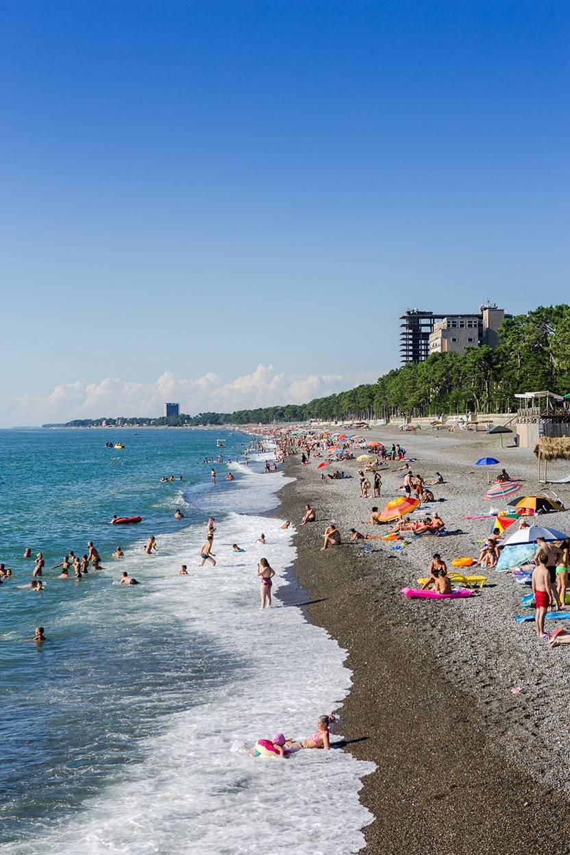 Где лучше отдыхать в грузии на море