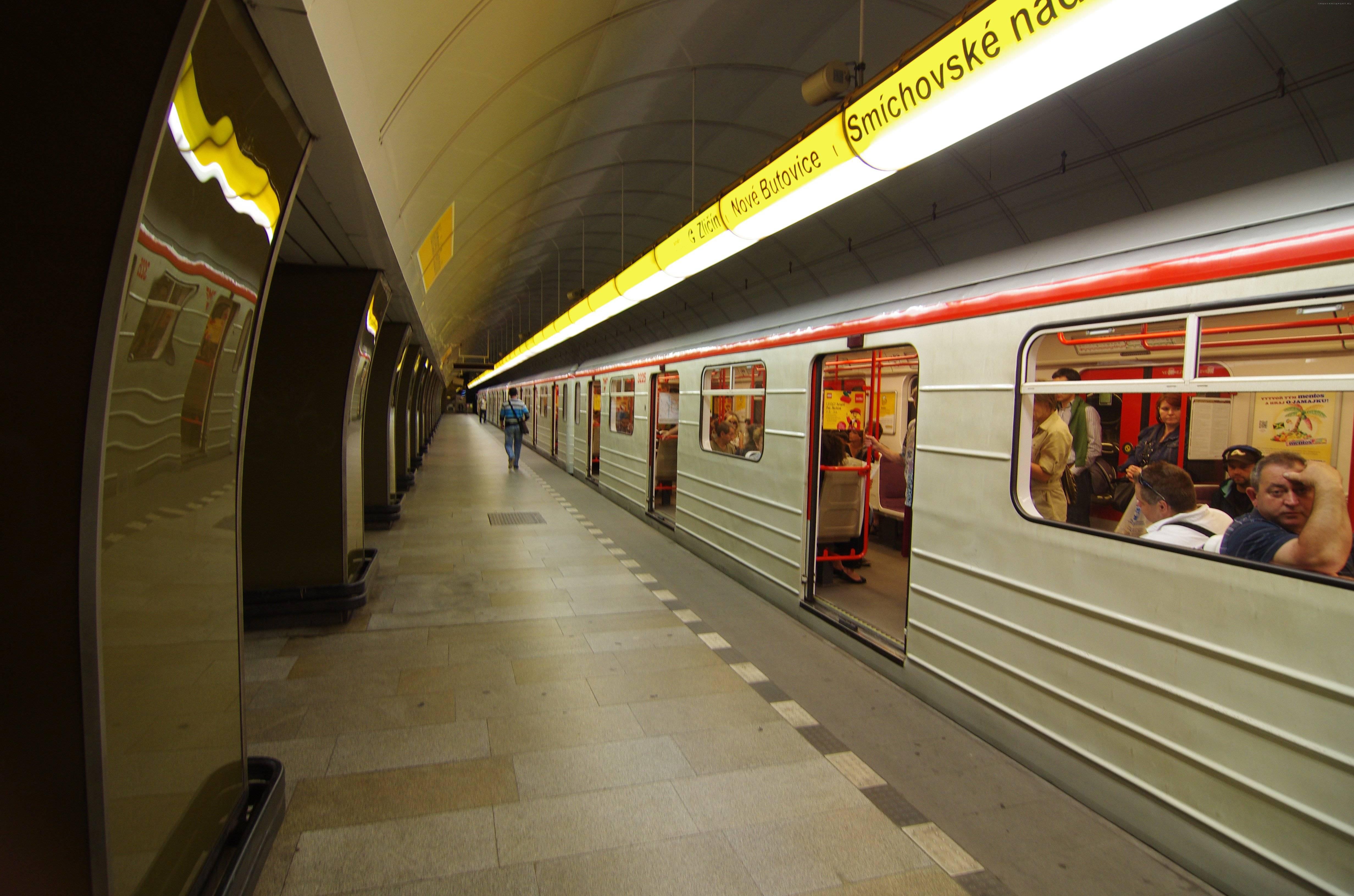 Пражский метрополитен — википедия