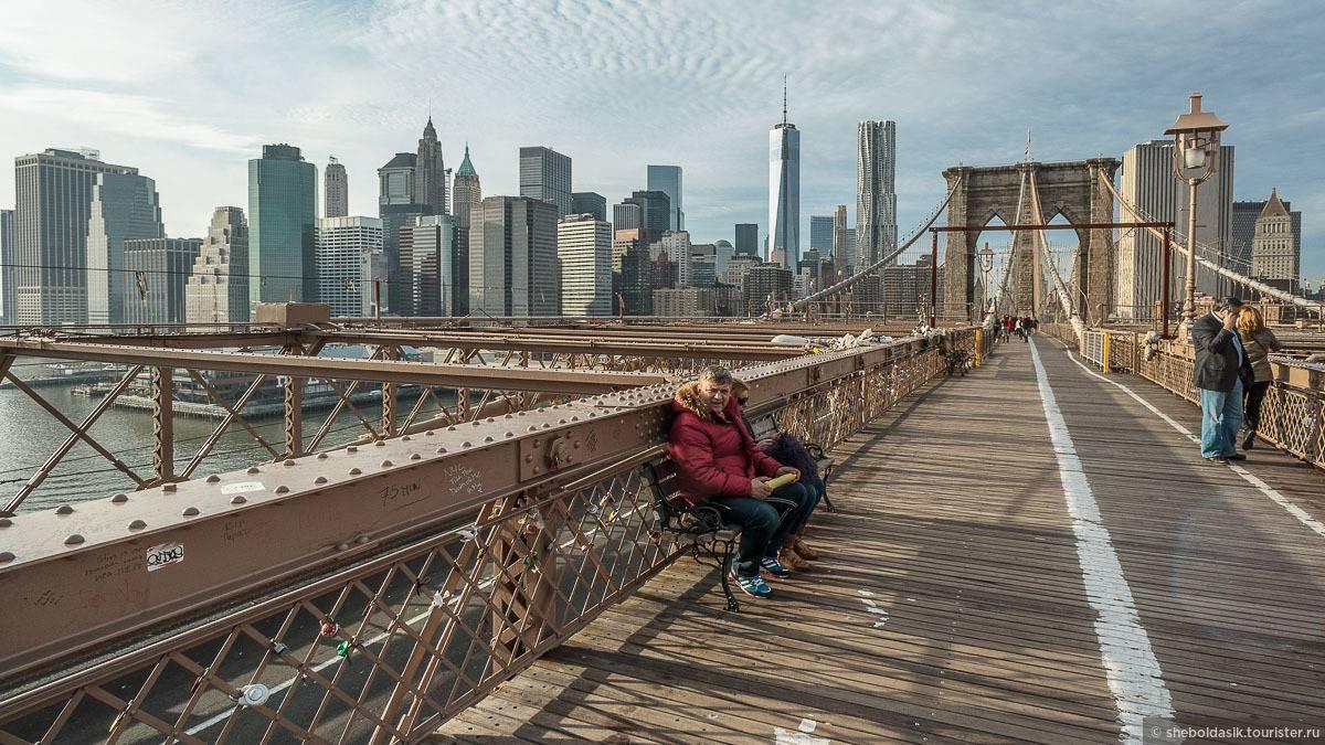 Бруклинский мост в нью-йорке на фото - история, описание, расположение