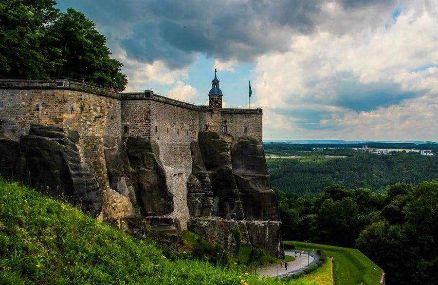 Саксонская швейцария и крепость кёнигштайн – заповедник, окутанный легендами