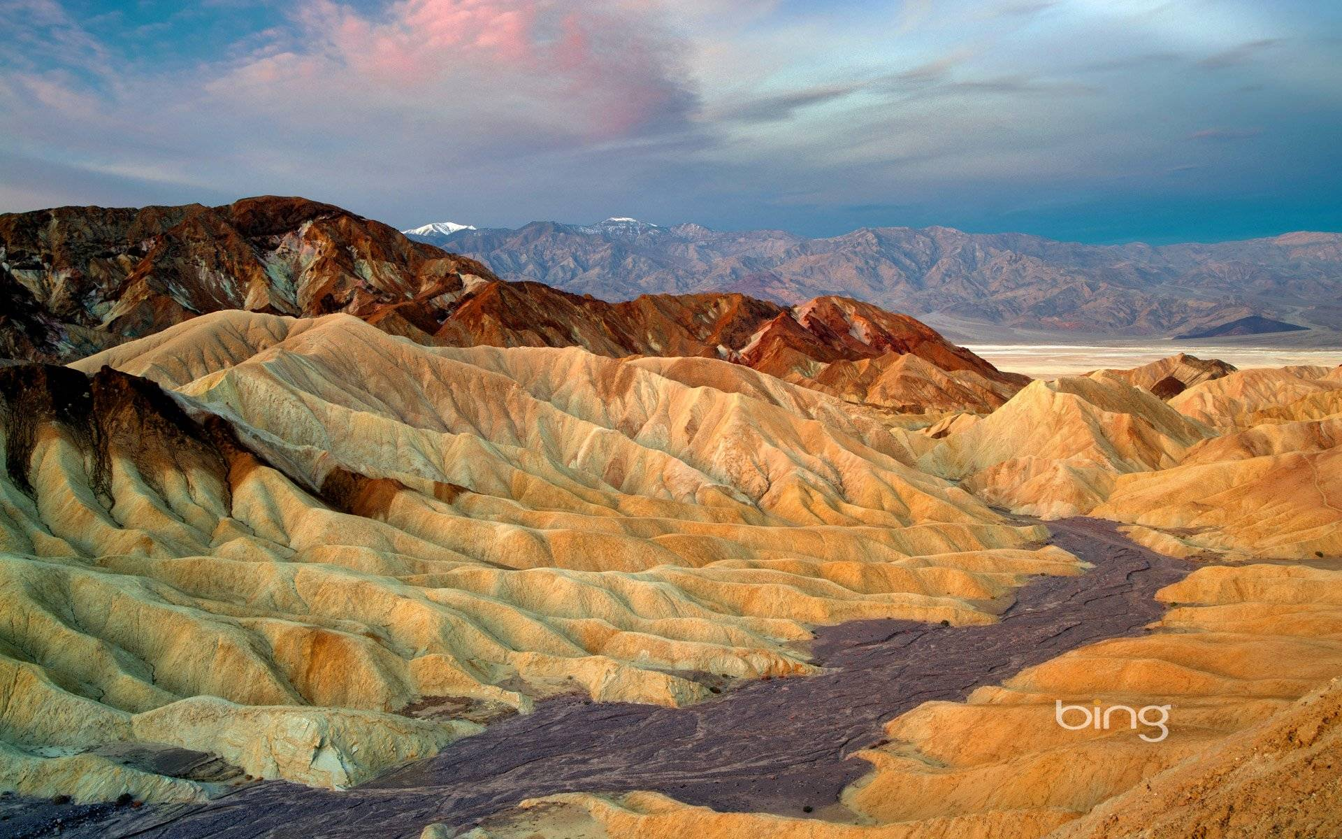 Загадки национального парка долина cмерти в штате калифорния сша
