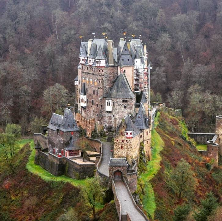 Замки баварии и германии – романтика средневековья покорит вас