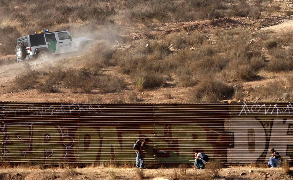 Наказание за нелегальное пересечение границы сша