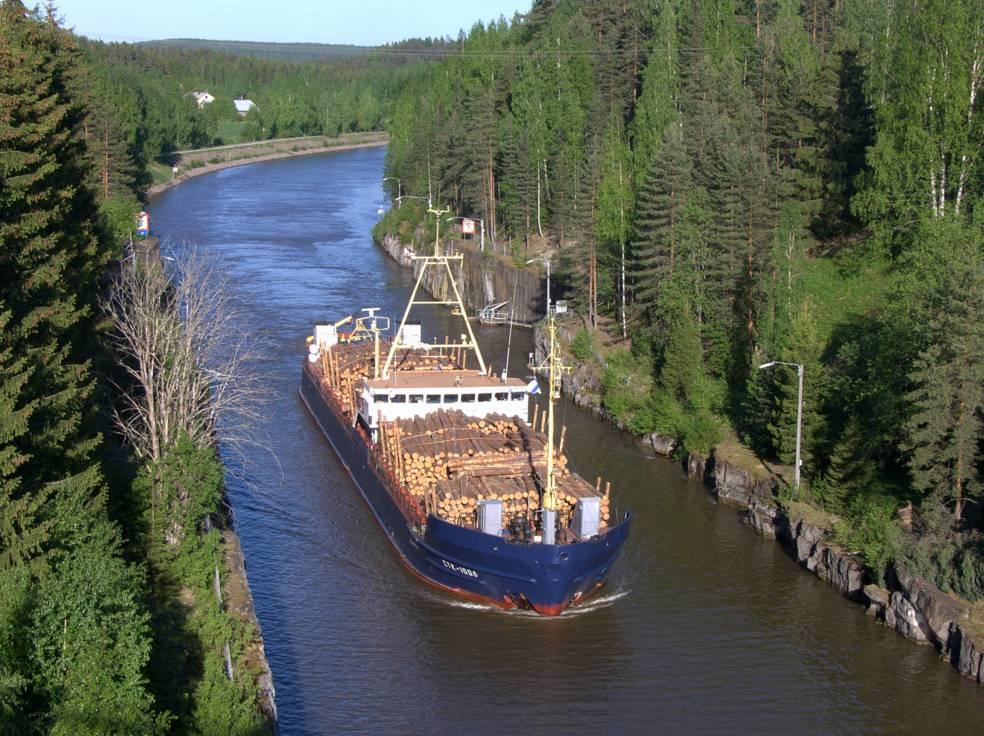 Внутренний водный транспорт россии