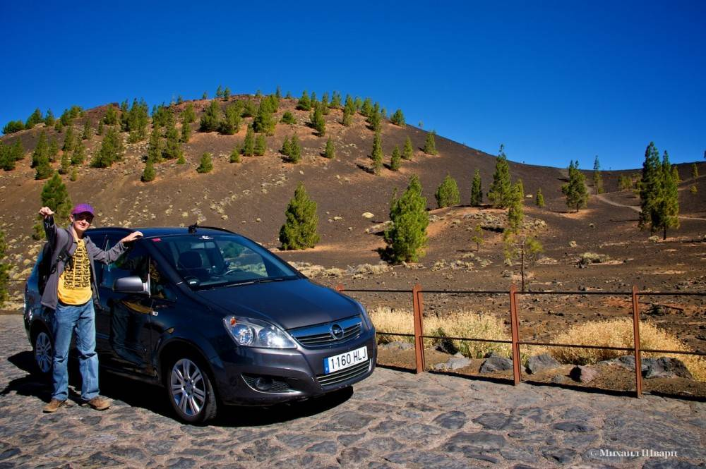 По испании на машине, наш маршрут по побережью испании