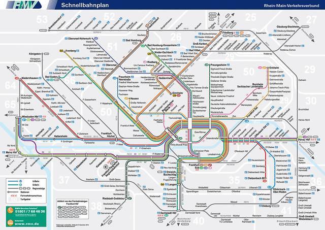 Проложенный маршрут от амстердама до франкфурта-на-майне