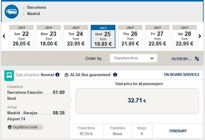 Барселона - мадрид: расстояние, как добраться