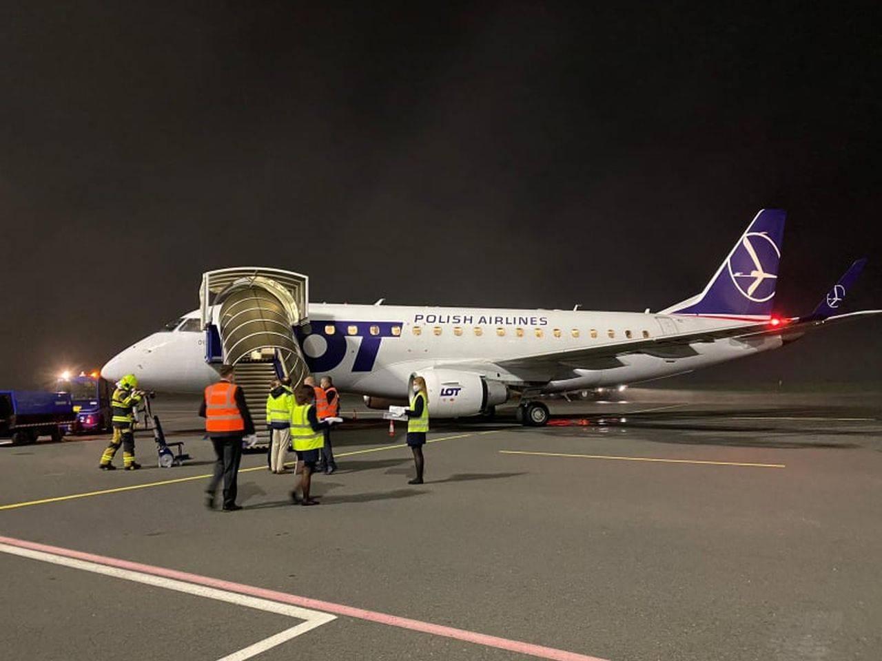 Ваш рейс lot polish airlines задержали или отменили?