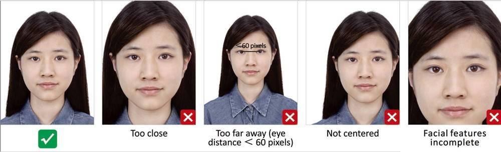 Список требований на фото на визу в китай