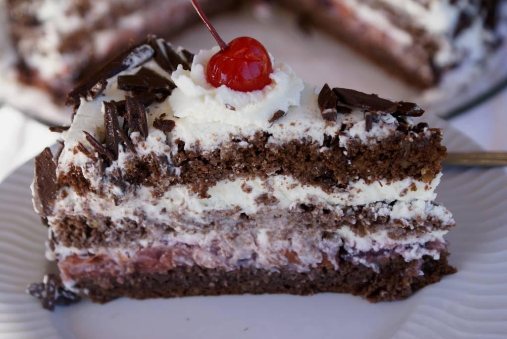 Шварцвальдский шоколадный торт «черный лес» - люблю готовить - страна мам