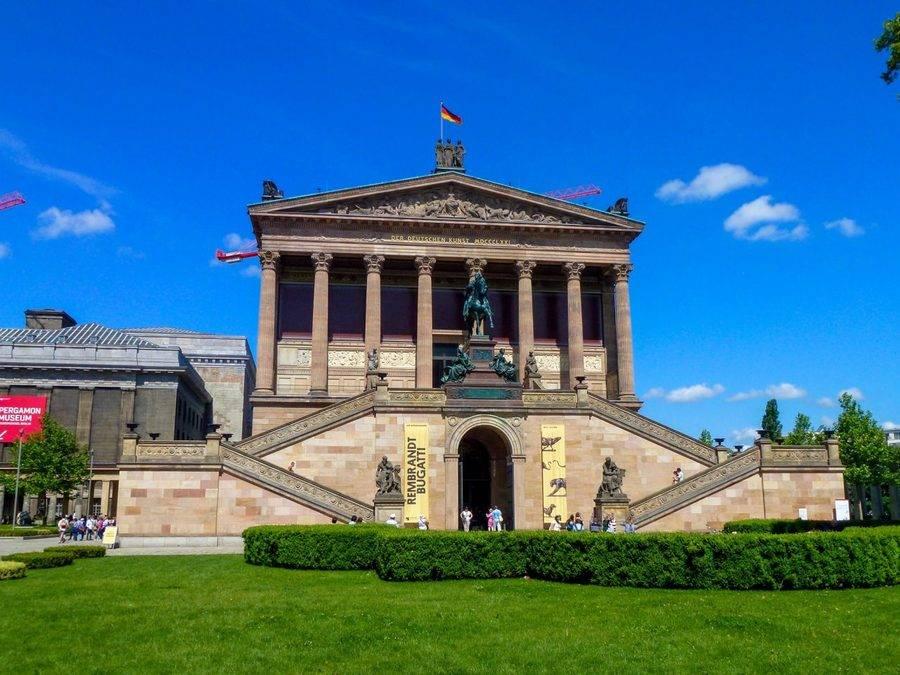Музеи берлина на музейном острове: пергамон, боде и другие